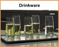 Drinkware for Beer, Wine and other spirits