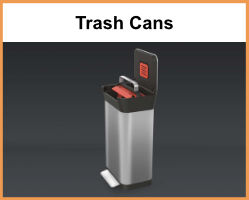 Trash Cans & Compost Bins