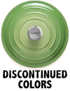Le Creuset Discontinued Colors