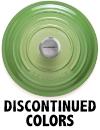 Shop Le Creuset Discontinued Colors