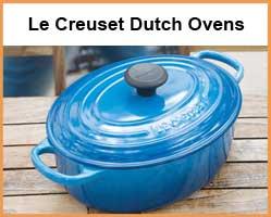 Le Creuset Dutch Ovens