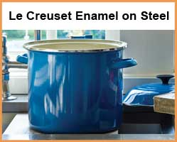 Le Creuset Enamel on Steel