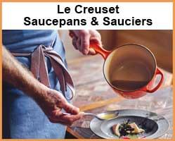 Le Creuset Sauce Pans