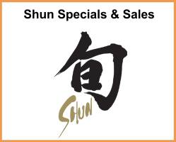 Shun Sales and Specials