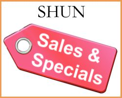 Shun Specials and Sales