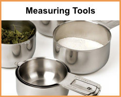 Measuring Spoons, Cups and Scales