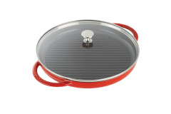 Staub Cast Iron Round Steam Grills