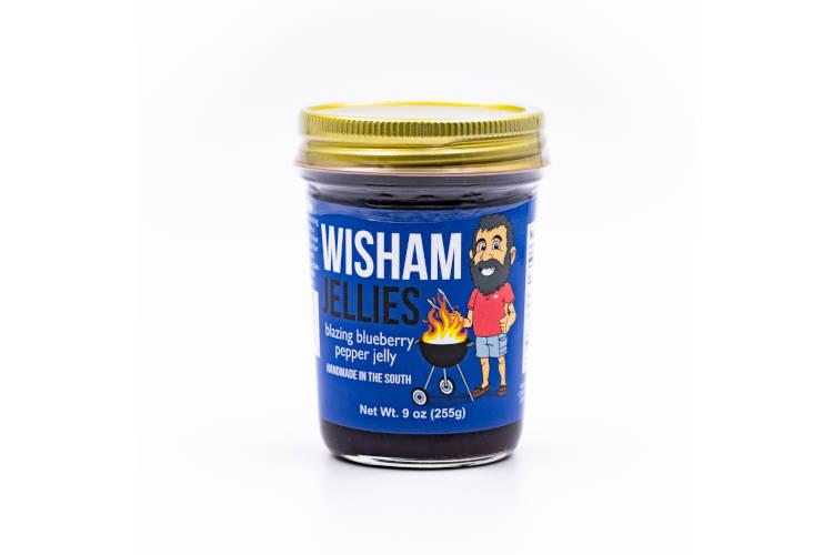 Wishams Jellies Blazing Blueberry Pepper Jelly
