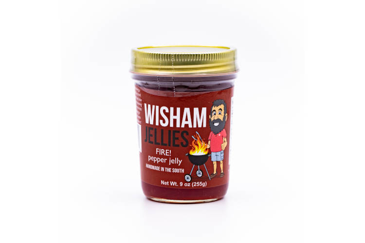 Wishams Jellies FIRE! Pepper Jelly