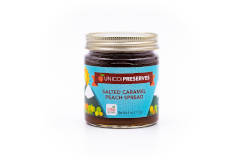 Unicoi Preserves Salted Caramel Peach Spread