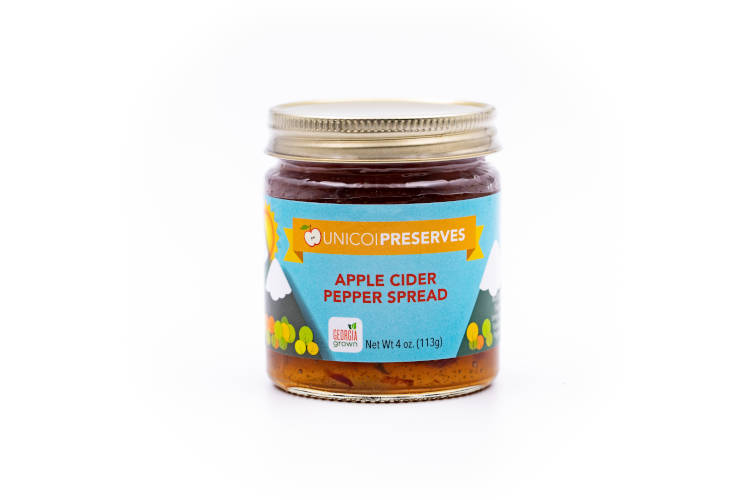 Unicoi Preserves Apple Cider Pepper Spread