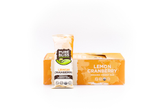 Pure Bliss Organic Lemon Cranberry Energy Bar