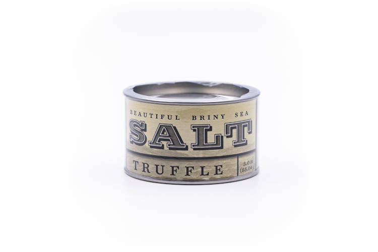 Beautiful Briny Sea Truffle Sea Salt
