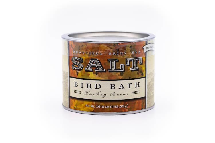 Beautiful Briny Sea Bird Bath Turkey Brine