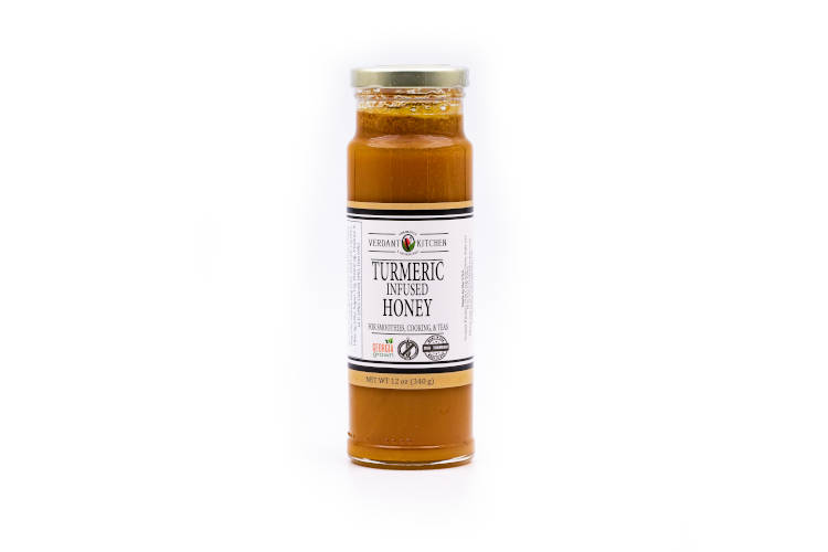 Verdant Kitchen Turmeric Infused Honey