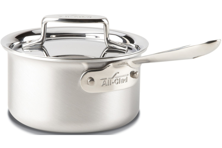 All-Clad d5 Brushed Stainless Saucepans with Lid