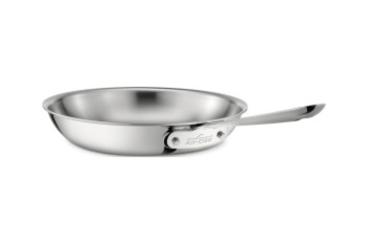 All-Clad d3 Stainless Fry Pans