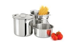 All-Clad Stainless Multi-Cookers with Lid