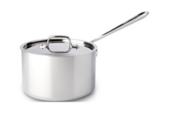 All-Clad d3 Stainless Saucepans with Lid