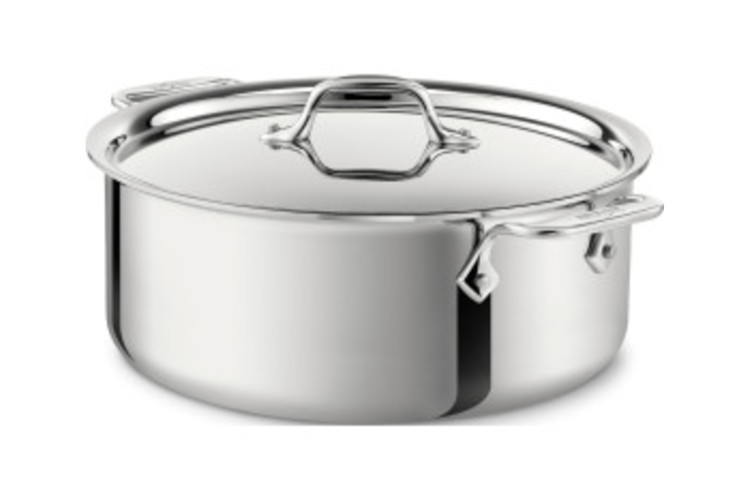 All-Clad d3 Stainless Stockpots with Lid