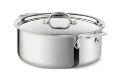 All-Clad d3 Stainless Stock Pots with Lid