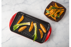 Le Creuset Cast Iron Extra Large Double Burner Grills