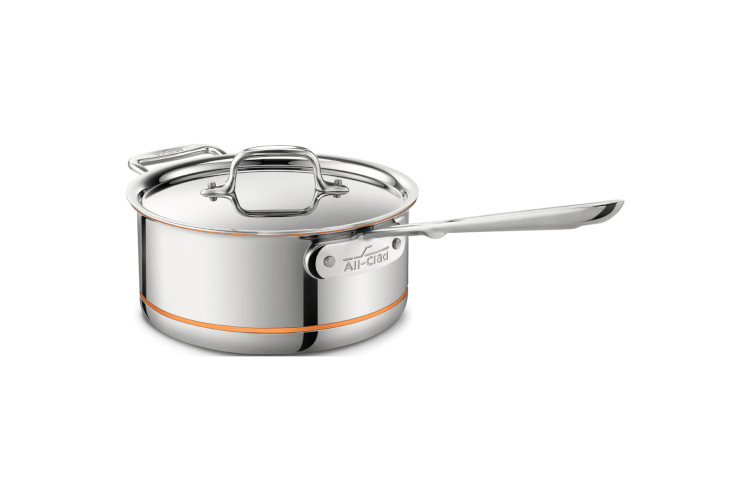All-Clad Copper Core Saucepans with Lid