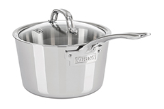 Viking Contemporary 3-Ply Stainless Steel Saucepans