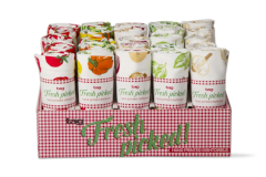 TAG Fresh Picked Vegetable Dishtowel