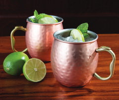 Moscow Mule 20 Ounce Copper Mug by Oggi