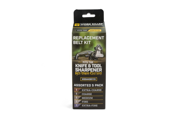 Work Sharp Knife & Tool Sharpener: Assorted Belt Replacement Kit