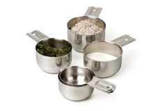 RSVP Endurance Stainless Steel 6-Piece Measuring Cups