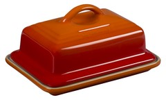 Le Creuset Stoneware Butter Dish Flame