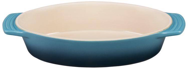Le Creuset Stoneware 1.75 Quart Oval Dish Marine