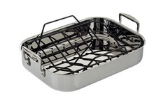 Le Creuset Premium Stainless Steel Roasting Pan Sets