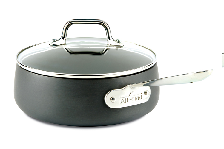 All-Clad HA1 Nonstick Saucepans with Lid