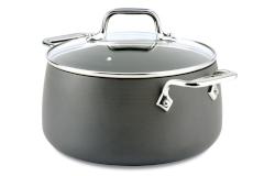 All-Clad HA1 Nonstick 4 Quart Soup Pot with Lid