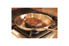 All-Clad d3 Armor Stainless Steel Fry Pans