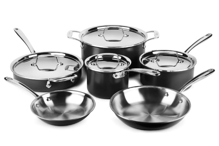 All-Clad LTD 10 Piece Cookware Set