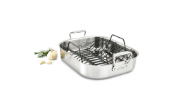 All-Clad Stainless Roasting Pans with Non-Stick Rack