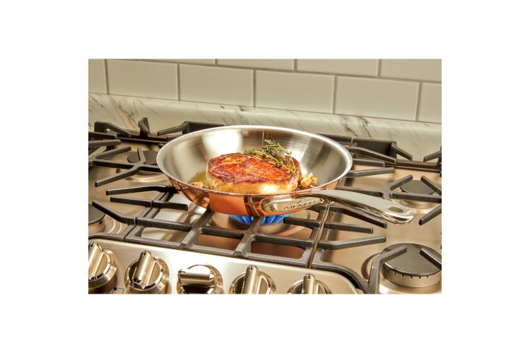 All-Clad c4 Copper Fry Pans