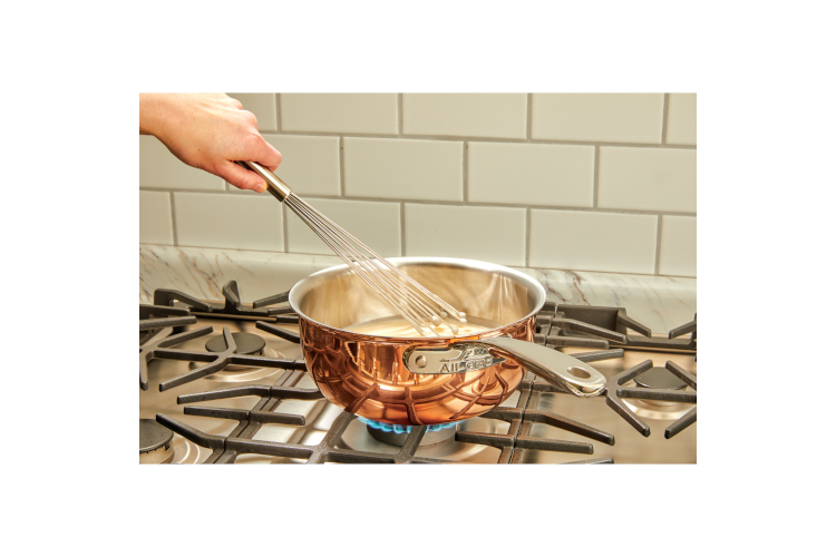 All-Clad c4 Copper 2.5 Quart Saucier