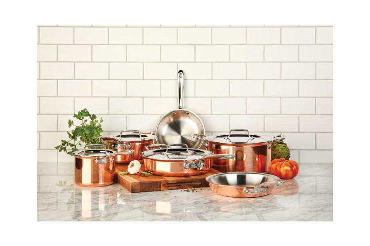 All-Clad c4 Copper 10-Piece Cookware Set