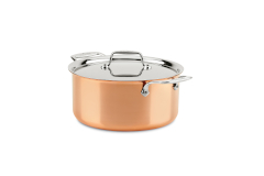 All-Clad c4 Copper 8 Quart Stock Pot with Lid
