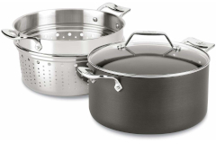 All-Clad Essentials Nonstick 7 Quart Multi-Pot with Insert