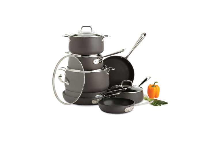 All Clad Ha1 13 Piece Cookware Set