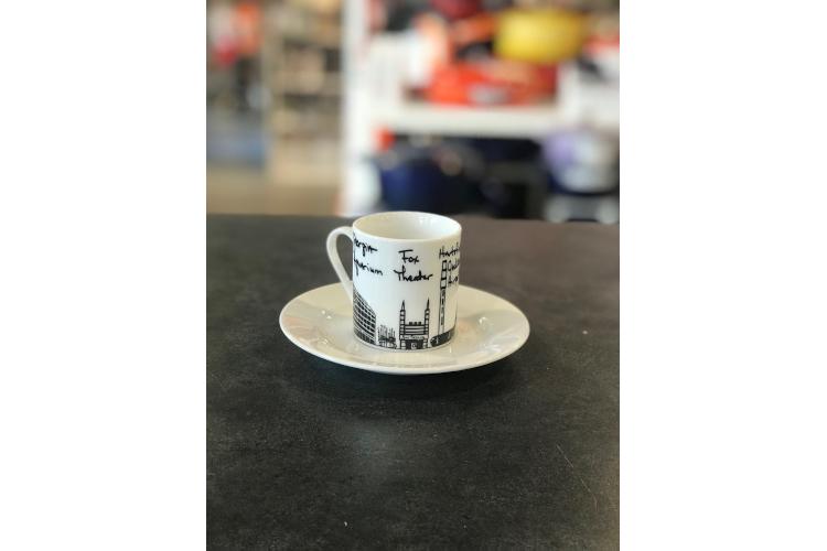 Atlanta Espresso Cup & Saucer