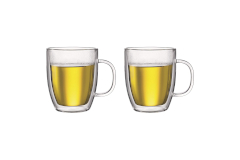 Bodum BISTRO Double Wall 2-Piece Mug Set