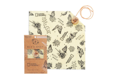 Bee's Wrap Explorer Pack In Monarch Print