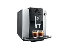 Jura E6 Automatic Coffee Machine Platinum